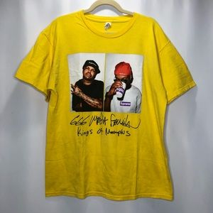 Three Six Mafia Band Tee Shirt